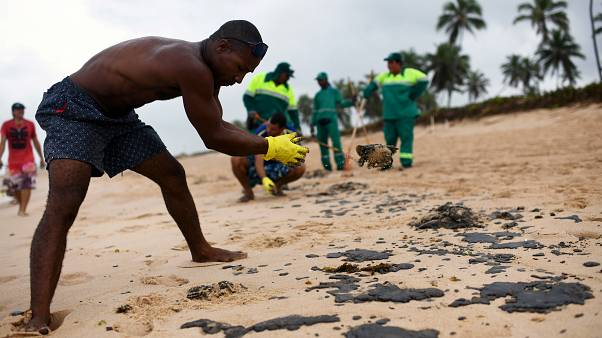 Oil tanker owner denies causing massive spill off Brazil's coast