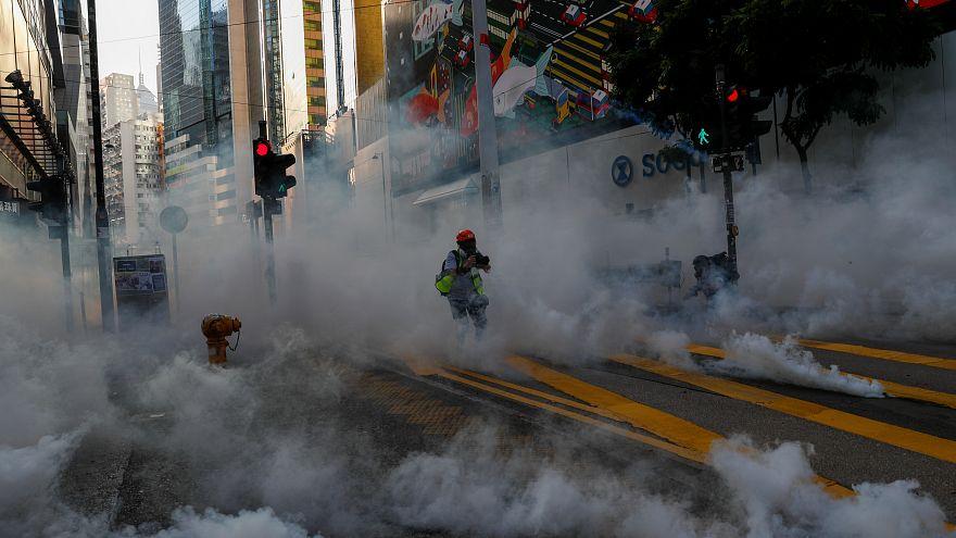 Nuevos disturbios violentos en Hong Kong