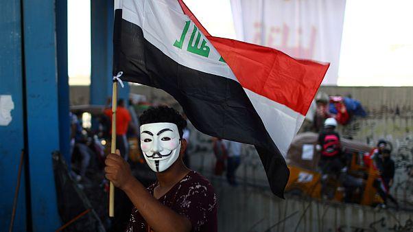 معترض عراقی
