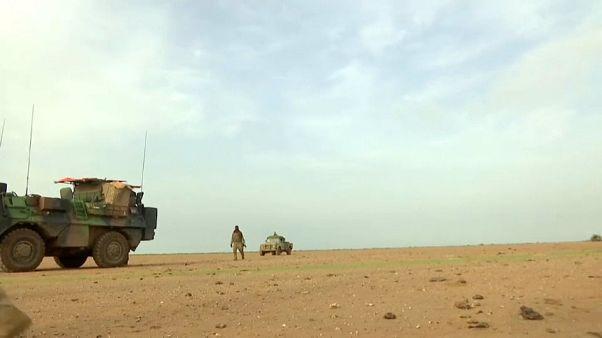 انتشار القوات الفرنسية في مالي