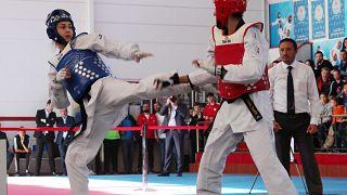 Tekvando Avrupa Şampiyonası'nda İrem Yaman'dan Türkiye'ye altın madalya