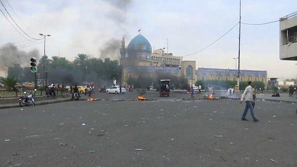 Folytatódtak a kormányellenes tüntetések Irakban