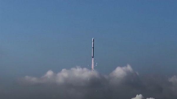 ماهواره گائوفن ۷ هنگام پرتاب