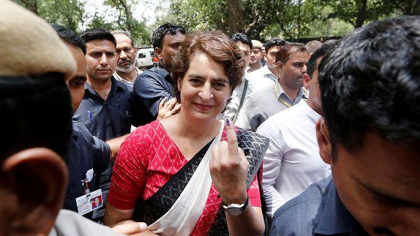 Hindistan Milli Kongresi Partisi Genel Sekreteri Priyanka Gandhi Vadra