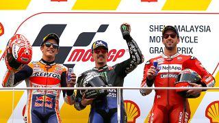 Maverick Viñales vence GP da Malásia de MotoG