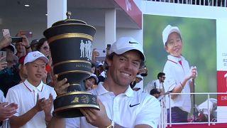 Golf: a Shanghai successo per il nordirlandese Rory McIlroy