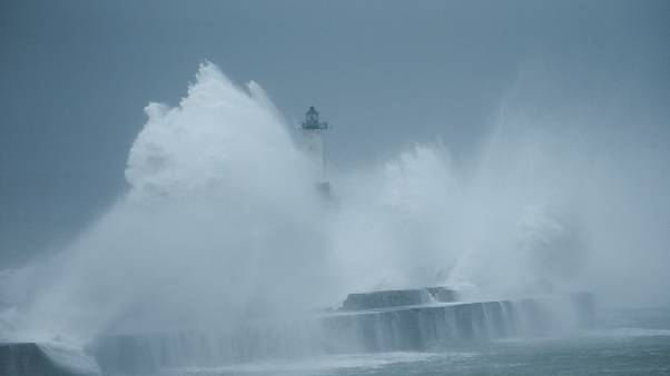 Storm Amelie hits regions in France, Spain and Italy