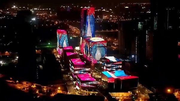 Lichtspiele in Schanghai
