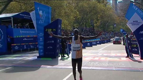 Kenianischer Doppelsieg bei New-York-Marathon