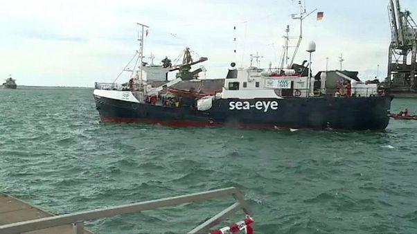 بیش از ۲۰۰ پناهجوی نجات یافته از مدیترانه وارد سواحل ایتالیا شدند
