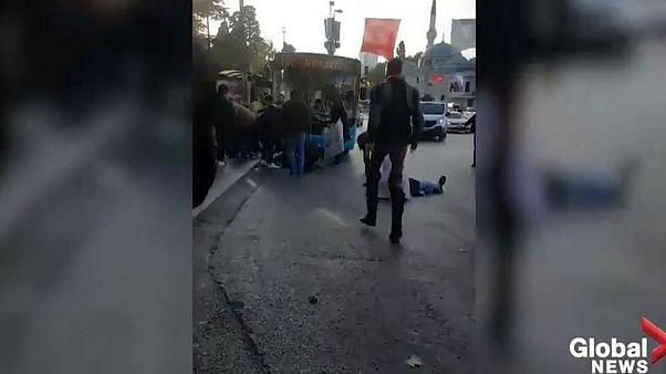 Κωνσταντινούπολη: Λεωφορείο παρέσυρε πεζούς και ο οδηγός «τράβηξε» μαχαίρι