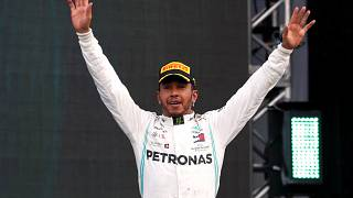 Lewis Hamilton  campione del mondo di Formula 1 per la sesta volta