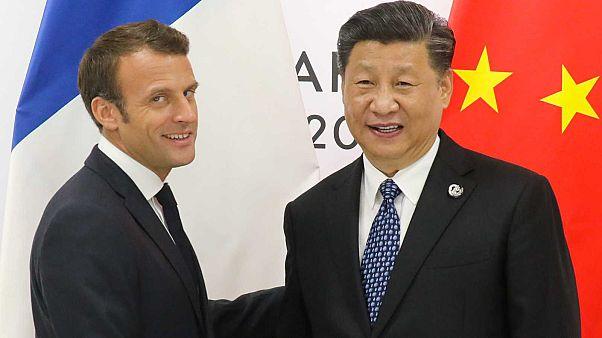 Macron Kínában: 40 megállapodást terveznek aláírni