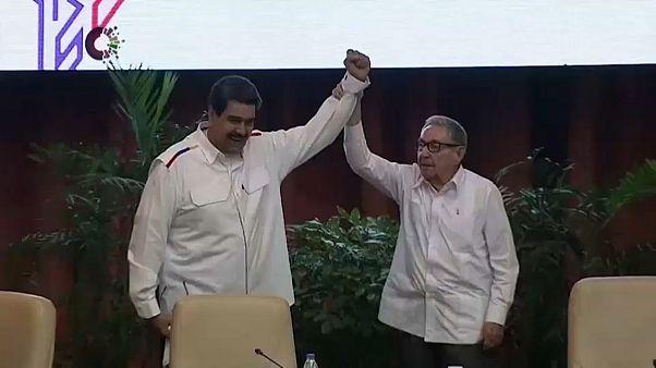 "Maduro llama ""mequetrefe"", ""traidor"" y ""pelele"" a Nayib Bukele"