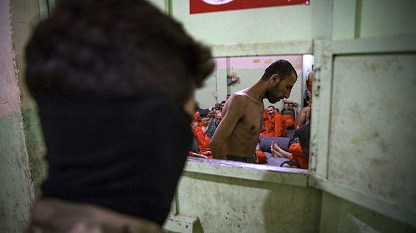 Irak'ta bulunan IŞİD kampı