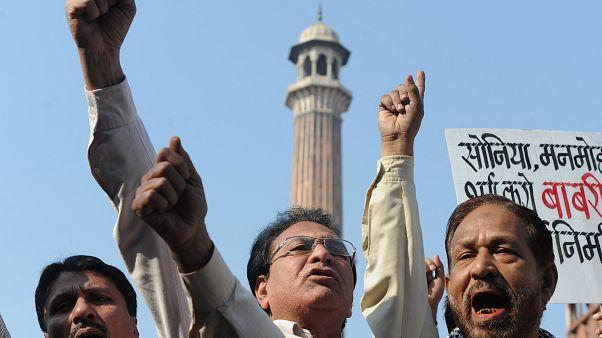 مسلمو الهند قلقون مع إقتراب إصدار حكم بشأن مسجد هدمه هندوس