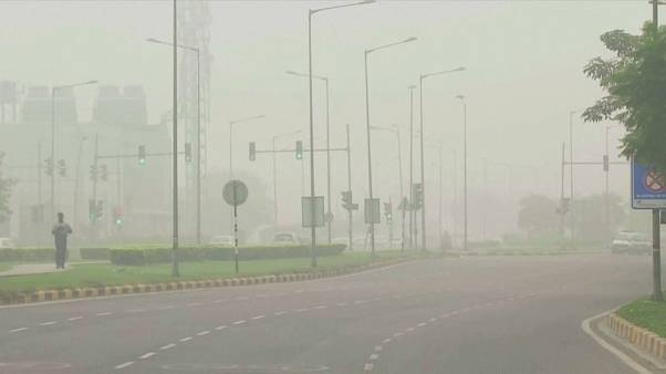New Delhi asphyxié par la pollution