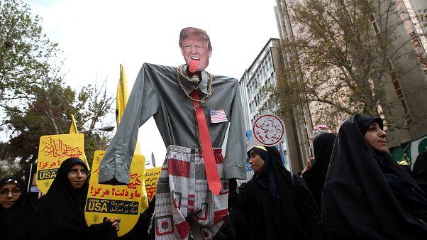 Miles de iraníes conmemoran 40 años después la toma de la embajada de EEUU en Teherán