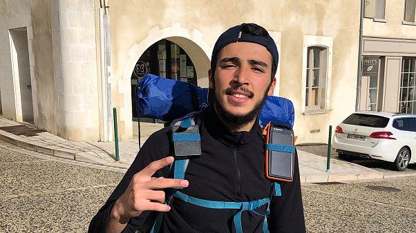 Debbraah au départ de Barbezieux Saint-Hilaire lundi 04 novembre pour Euronews