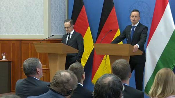 Budapesten tárgyalt a német külügyminiszter