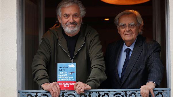 Jean-Paul Dubois regénye nyerte idén a Goncourt-díjat