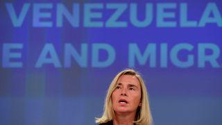 المفوضة العليا للسياسة الأمنية والخارجية لدى الاتحاد الأوروبي فيديريكا موغيريني