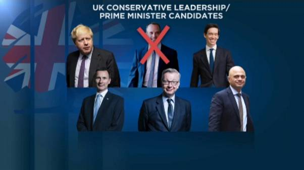 Boris Johnson extends lead in Tory leadership race to replace PM May