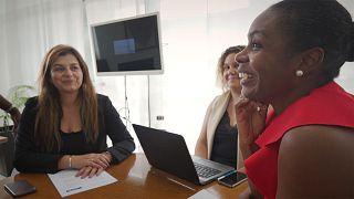 Las empresarias de Angola rompen barreras