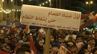 المظاهرات الليلية في طرابلس أصبحت طقسا من الطقوس بالنسبة للأهالي- 2019/11/04 -