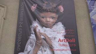 Exquisitely made collectors dolls on show in Tbilisi