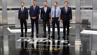 كبار السياسيين في إسبانيا يستعدون لإجراء مناظرة تلفزيونية قبيل الانتخابات العامّة