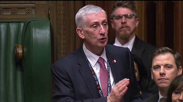 """Order!"" Parlamento britânico elege novo ""Speaker"""