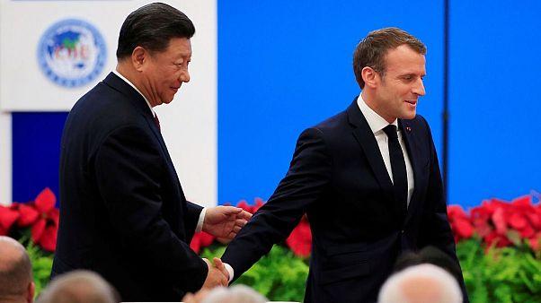 ماکرون: همکاری میان اروپا و چین در تغییرات اقلیمی تعیین کننده است