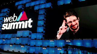 Web-csúcs Edward Snowdennel Lisszabonban