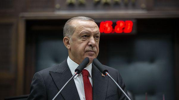 Türkiye Cumhurbaşkanı ve AK Parti Genel Başkanı Recep Tayyip Erdoğan, partisinin TBMM Grup Toplantısı'na katılarak konuşma yaptı.