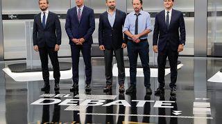 Catalunha domina debate para as legislativas espanholas