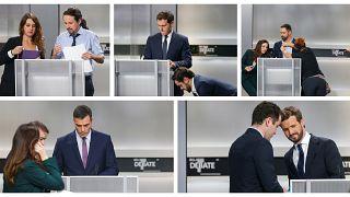 El debate electoral español se centra en el conflicto con Cataluña, ¿y Twitter?
