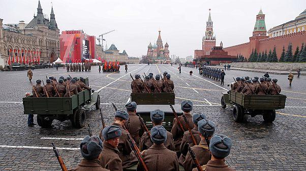 Moskau rüstet sich für große Militärparade