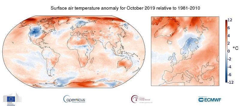UE/ Copernicus Climate Change Service / ECMWF