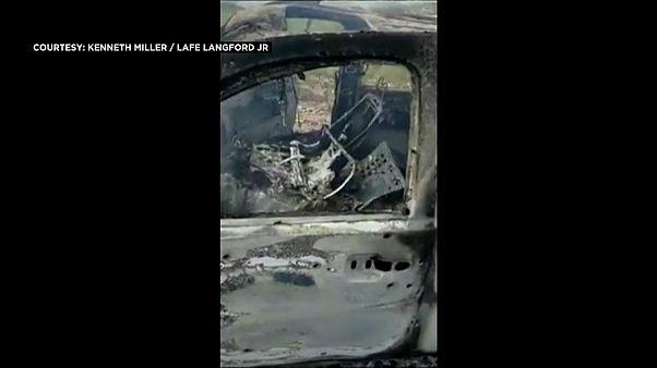 السيارة التي قتل فيها أفراد عائلة من المورمون قرب الحدود الأمريكية -2019/11/04 -