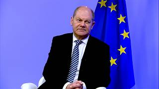 German Finance Minister Olaf Scholz talks about Europe's economic future