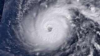 El tifón Halong en el Pacífico