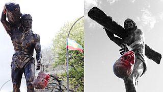Cile, presi di mira i simboli della conquista spagnola e dello stato