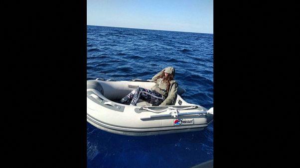 Rescatada una turista tras dos días perdida en el Mediterráneo