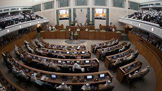 البرلمان التشريعي في الكويت، أرشيف رويترز