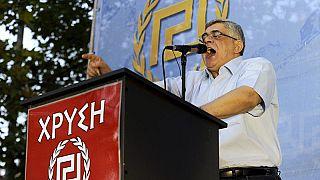 Grèce : comparution très attendue du fondateur du parti néonazi Aube dorée