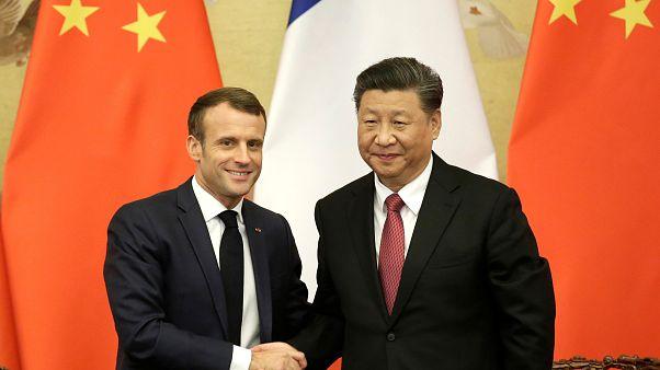 Opération séduction réussie pour Macron en Chine
