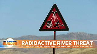 The mountain valley 'one landslide away' from radioactive catastrophe