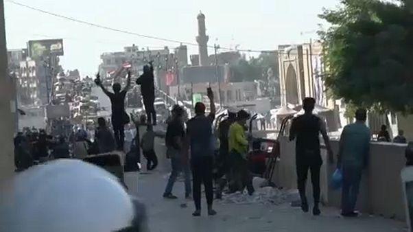 Bagdad : les autorités ouvrent le feu contre les manifestants