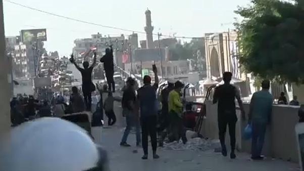 Scharfe Munition gegen Demonstranten in Bagdad